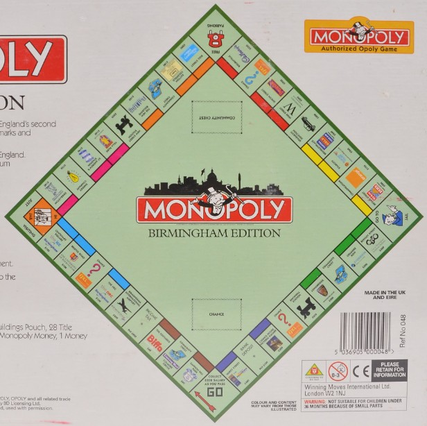 Monopoly Birmingham Limited Edition 2000 By Hasbro - new and sealed 3