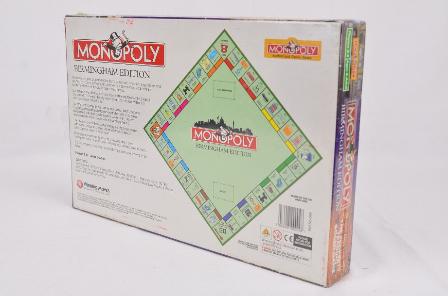 Monopoly Birmingham Limited Edition 2000 By Hasbro - new and sealed 5