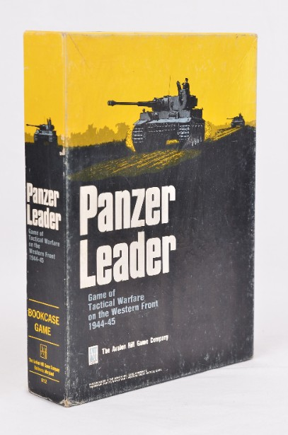Vintage 1974 Panzer Leader Game of Tactical Warfare Western Front - Avalon Hill