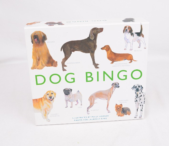 Dog Bingo Family Board Game - Illustrated by Polly Horner - 2013