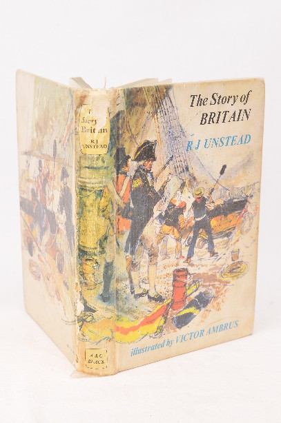The Story of Britain illustrated children's book - First Edition