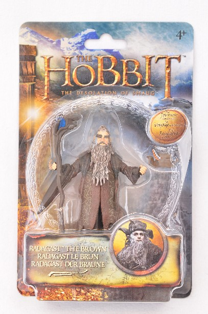 """The Hobbit - The Desolation of Smaug - 3.75"""" Radagast the Brown Figure - New"""
