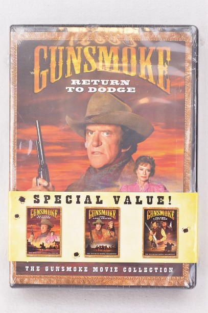 Gunsmoke Movie Collection [Return to Dodge/The Last Apache/To the Last Man]