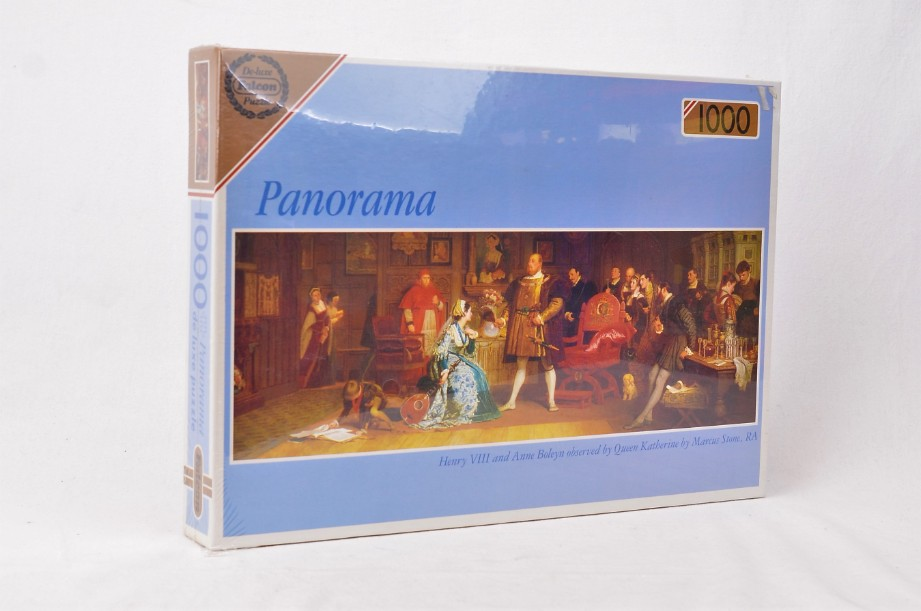 Falcon 1000-piece deluxe jigsaw puzzle Henry VIII and Anne Boleyn (sealed) 3466
