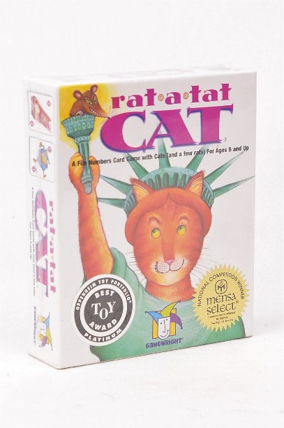 Rat-a-Tat Cat Card Game - Brand new and sealed