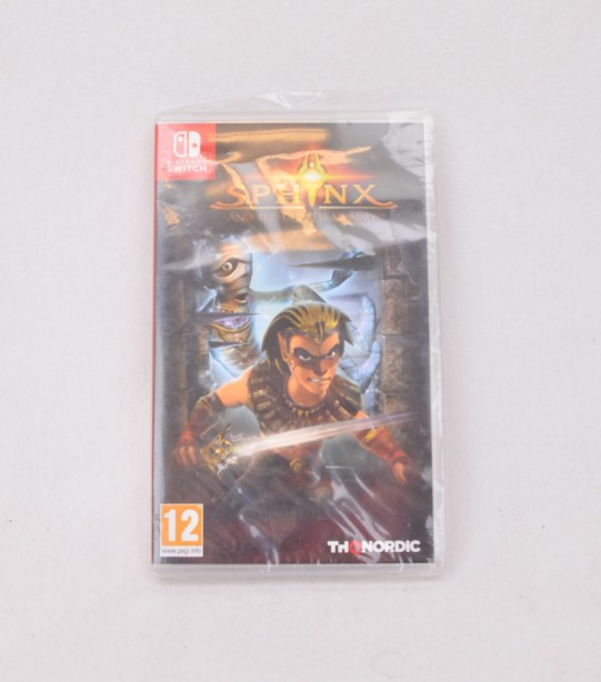 Nintendo Switch - Sphinx and the Cursed Mummy - Brand new and sealed