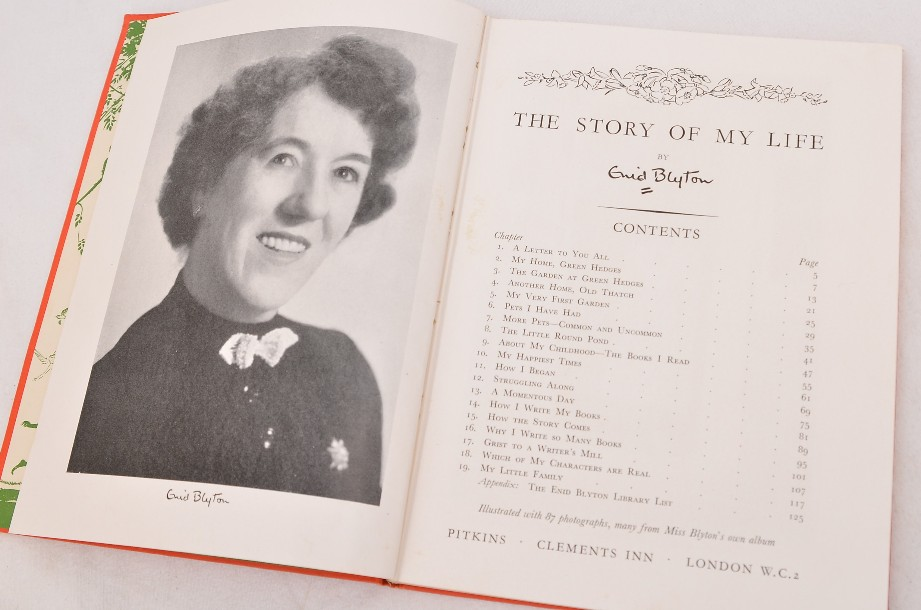The Story Of My Life - Enid Blyton